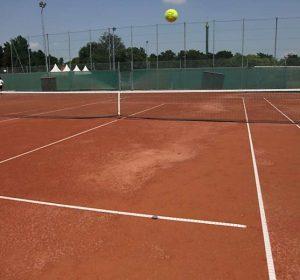 Tennis court at Study Academy Vienna