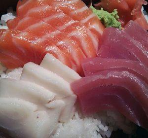 Healthy Sushi lunch