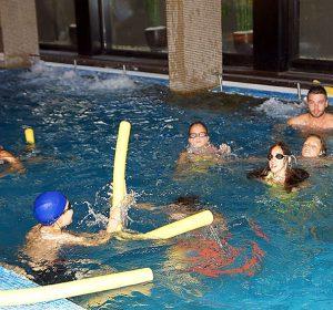 Swimming activities