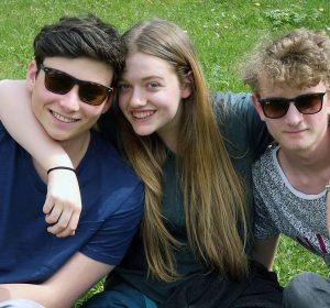 Best friends in Study Academy Vienna