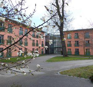 View to Europa Haus